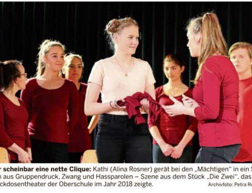 Theaterprogramm an unserer Schule