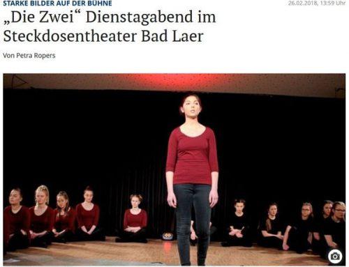 Neue Osnabrücker Zeitung berichtet: Die Zwei
