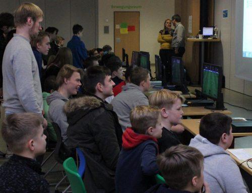 Computer-Fußball mit pädagogischem Hintergrund