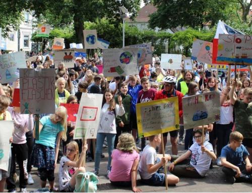 Großer Klimamarsch