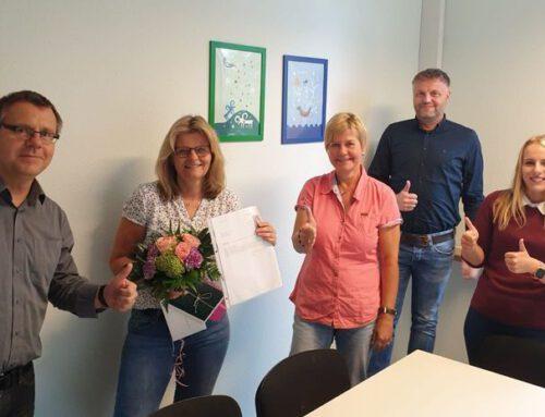 40jähriges Dienstjubiläum unserer Schulsekretärin Doris Steinkamp