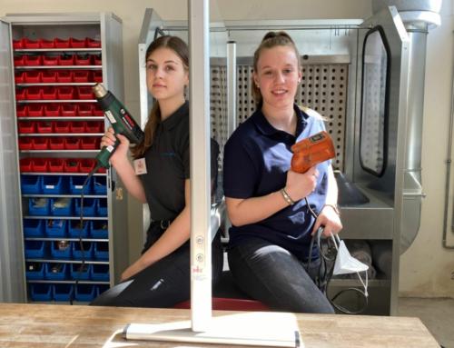 Schülerinnen für technische Berufe begeistern — eine Kooperation von Let´s Mint und Höcker Polytechnik