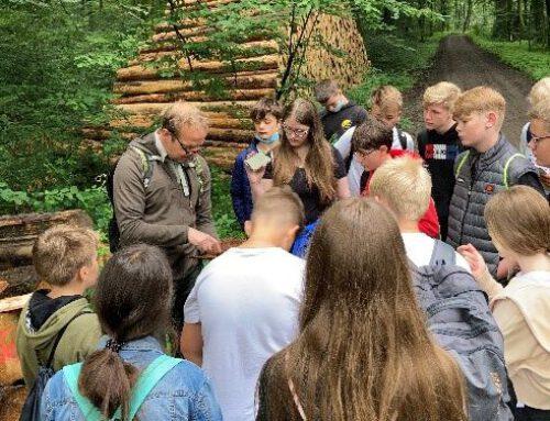 Waldprojekt der Klasse 7a