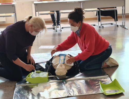 Erste-Hilfe-Kurs für Lehrkräfte