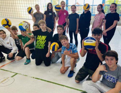 Volleyball an der Geschwister-Scholl-Oberschule – Mikasa stellt dieBälle!